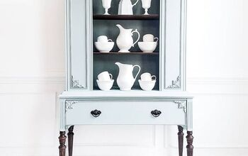 Vintage China Cabinet Makeover... Yes Another One