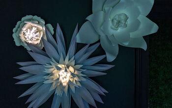 DIY Paper Flower Lantern: Only $3 in Materials