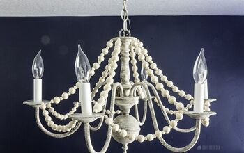 French Country Chandelier With Boho Flair