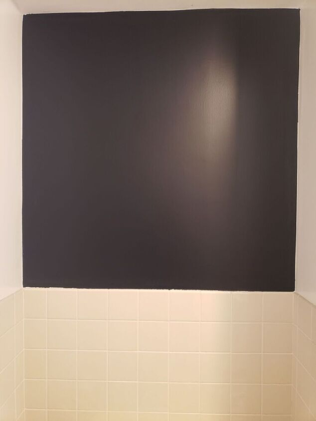 q how do i update bathroom window trim and medicine cabinet