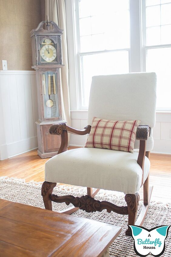 antique chair remodel