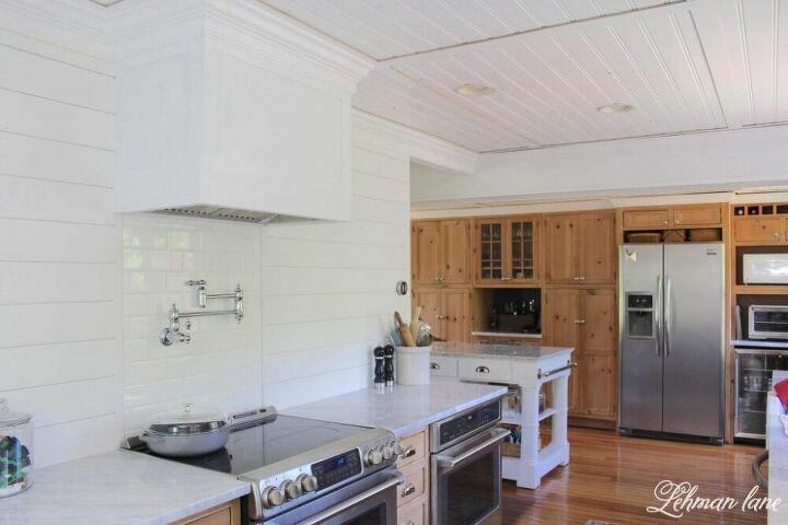 diy wood range hood for our farmhouse kitchen
