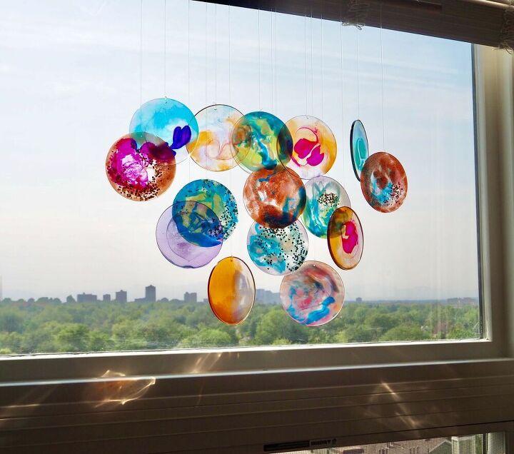indoor resin sun mobile