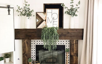 4 Steps to an Easy DIY Fireplace