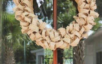6 Easy Steps to Make a Coffee Bean Sack Wreath