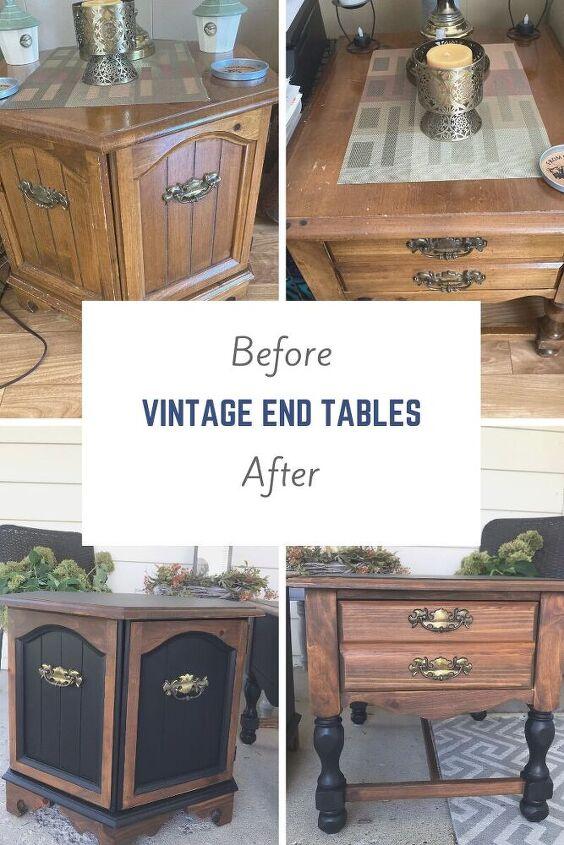 drab to fab vintage end tables
