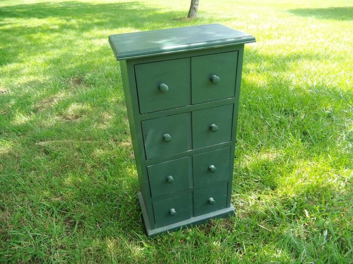 making an apothecary style cabinet