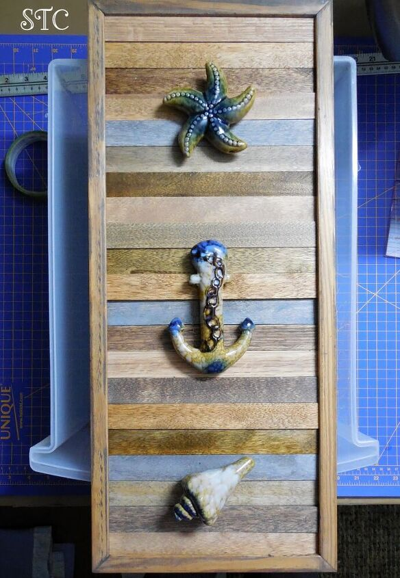 how to create art with a broken picture frame makeover number two