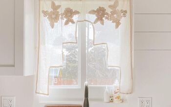 Easy, Budget Friendly Way to Hang a Curtain.