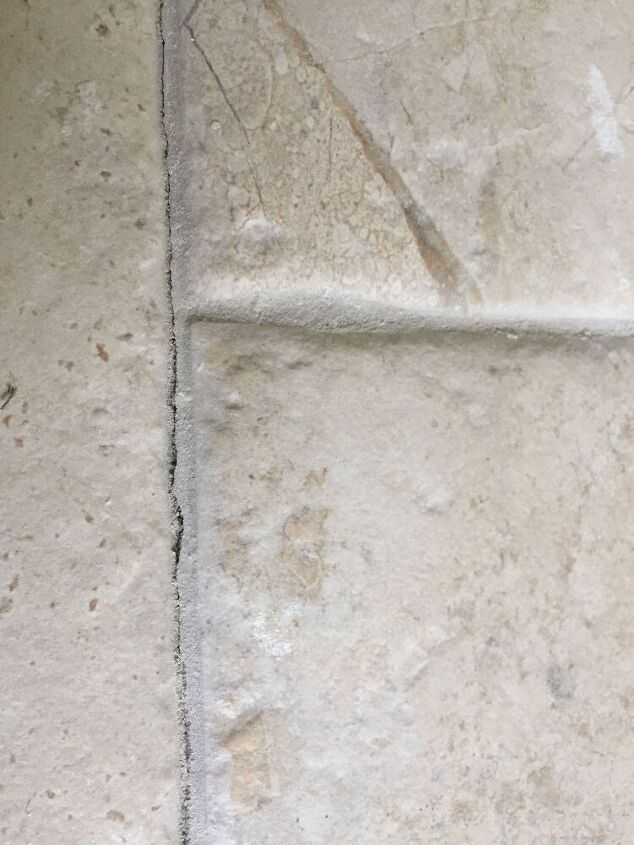 q how can i seal a gap in some cracked grout