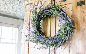 DIY Whimsical Lavender Wreath