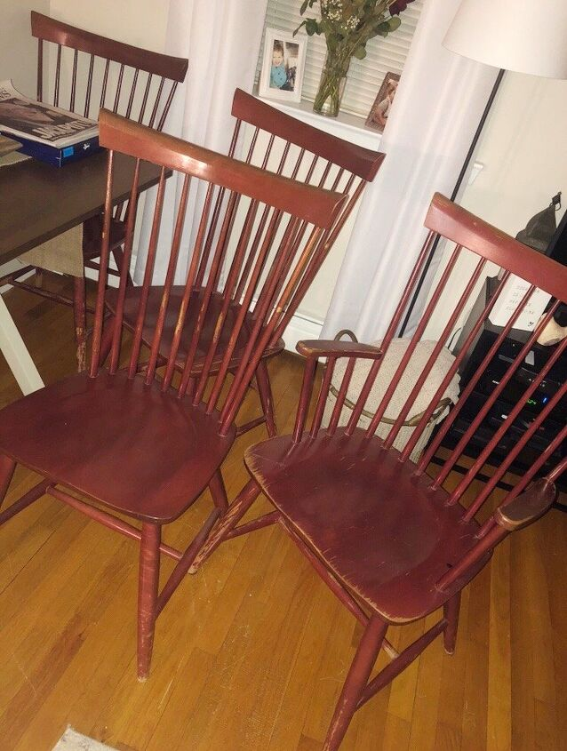 facebook marketplace dining chairs makeover
