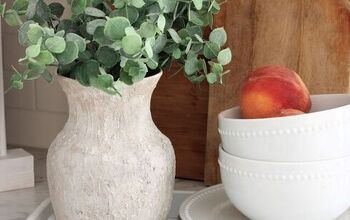DIY Pottery Barn Inspired Earthenware Vase