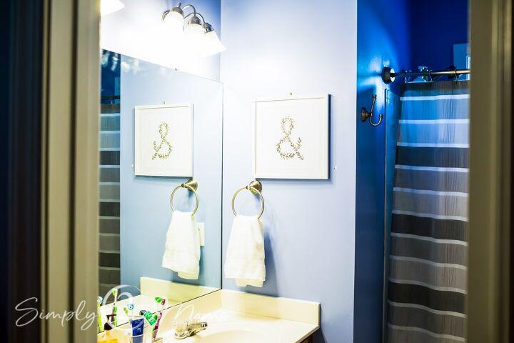 20 bathroom mirror makeover
