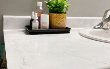Faux Marble Countertop & Mistakes to AVOID!