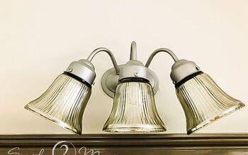 Mercury Glass Light Fixture