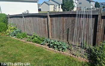 Vegetable Garden With a Classy Brick Border