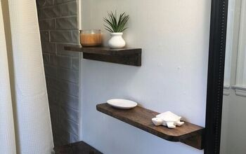 "DIY Scrap Wood ""Floating"" Shelf"