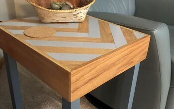 Old Countertop End Table