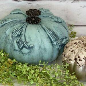Clay Mold Pumpkins