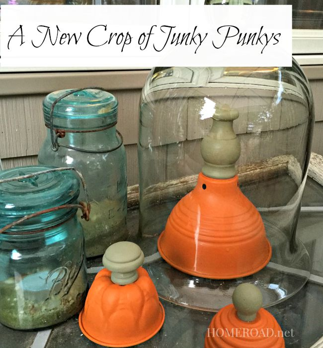 junky pumpkin patch for the fall