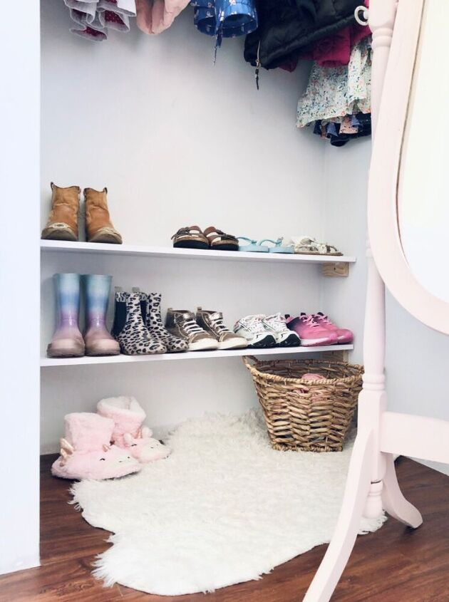easy shoe storage solution, AFTER