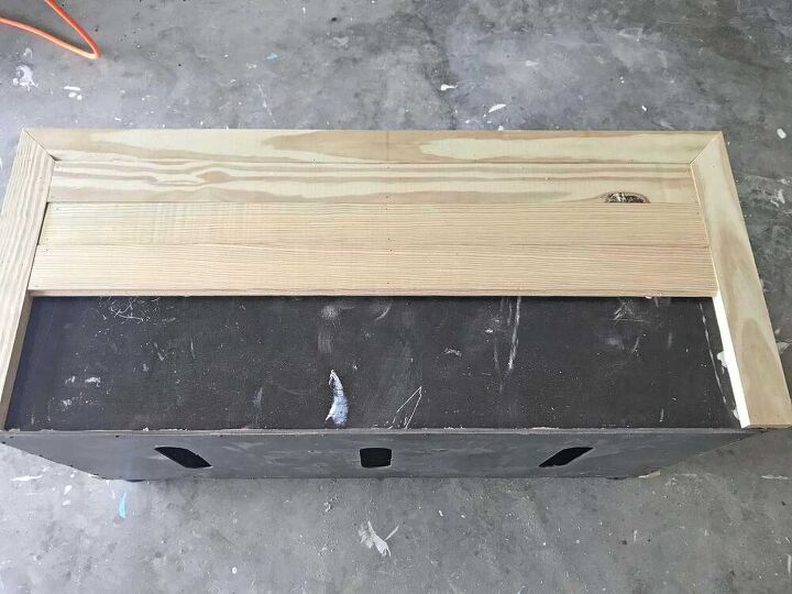 repurposed 5 00 television stand from auction