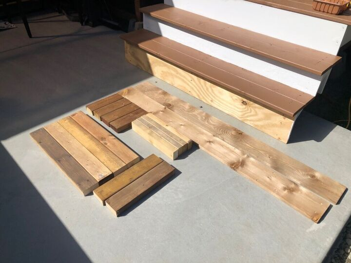 outdoor hot tub bench and towel rack