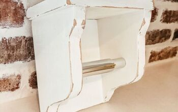 DIY Corbel Toilet Paper Holder