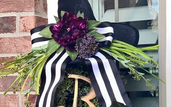 Witch's Hat Topiary DIY