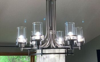 DIY Waterfall Chandelier