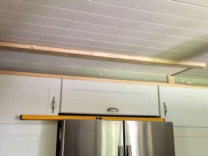updated builder grade cabinets