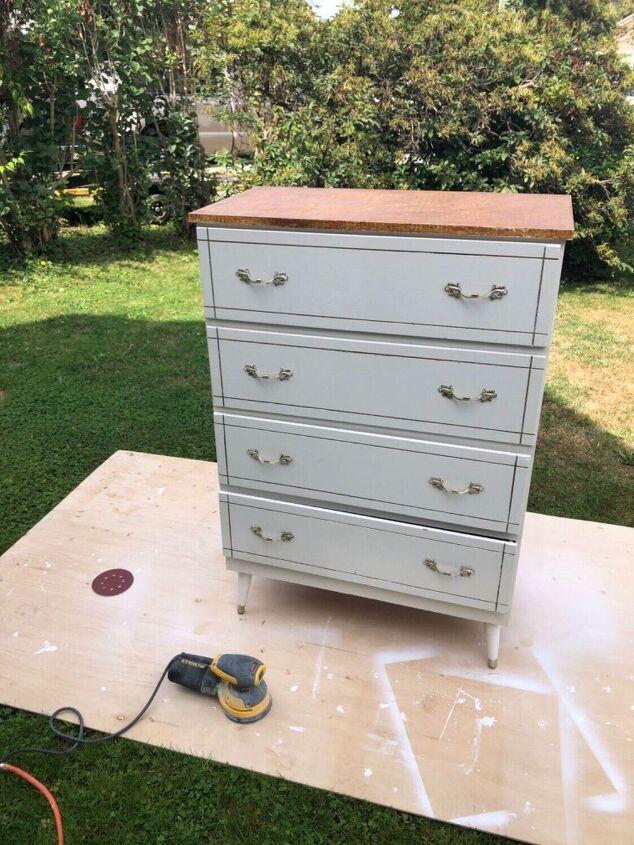 little dresser makeover