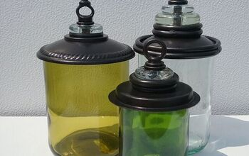 Wine Bottle Apothecary Jars DIY