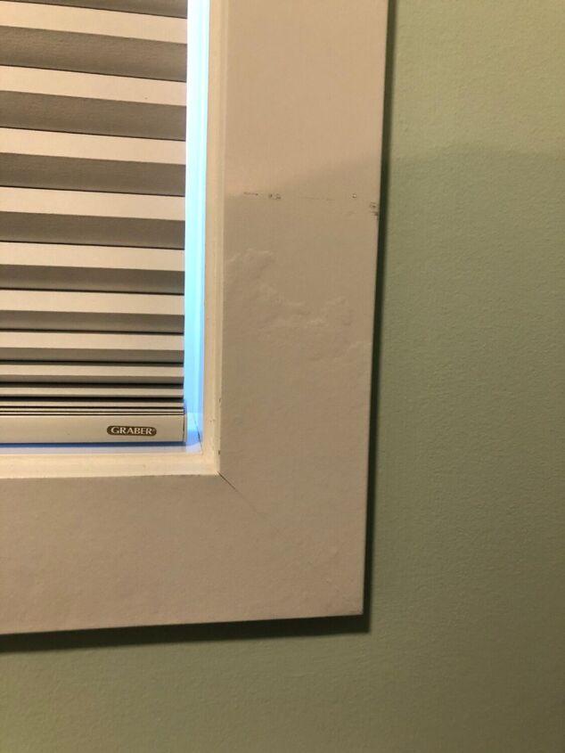 q weird patterns on window trim