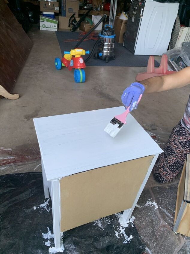 glam nightstands diy