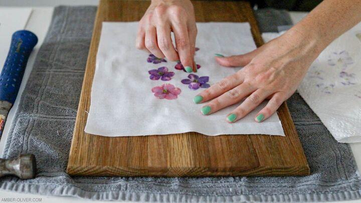 diy flower prints