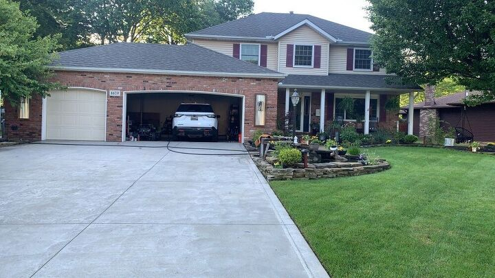 exterior home makeover