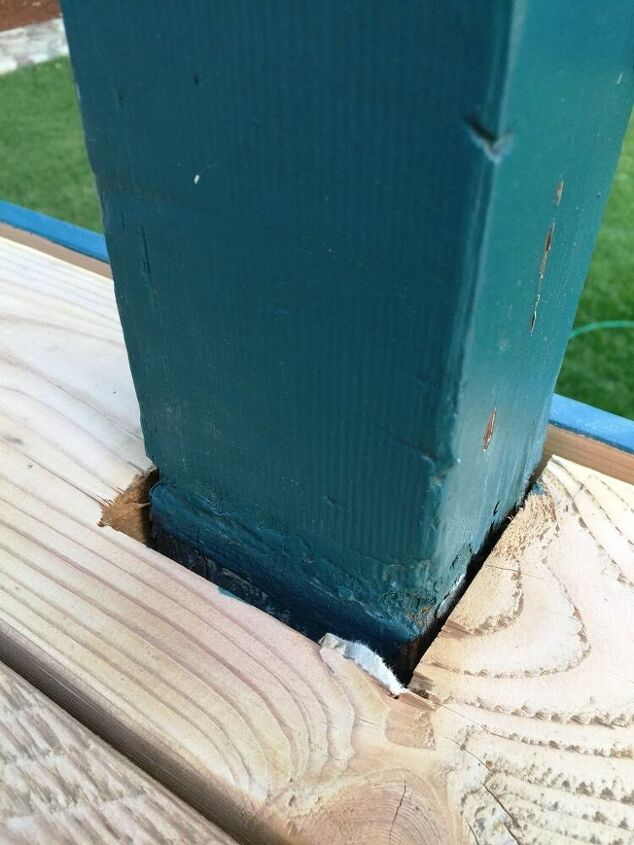 let s make post boxes for the deck