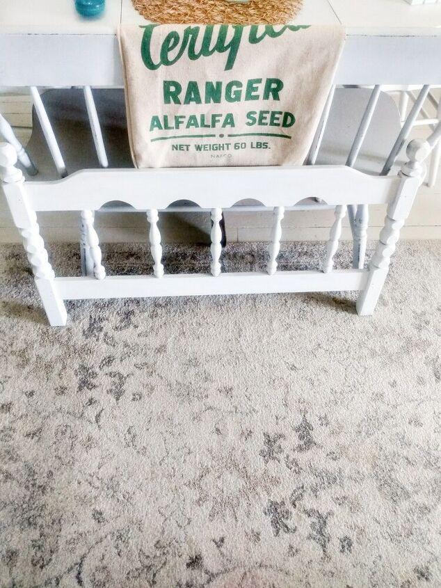 repurposing an old headboard farmhousestyle
