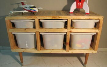 How to Build Storage Boxes Cabinet From Pallets.