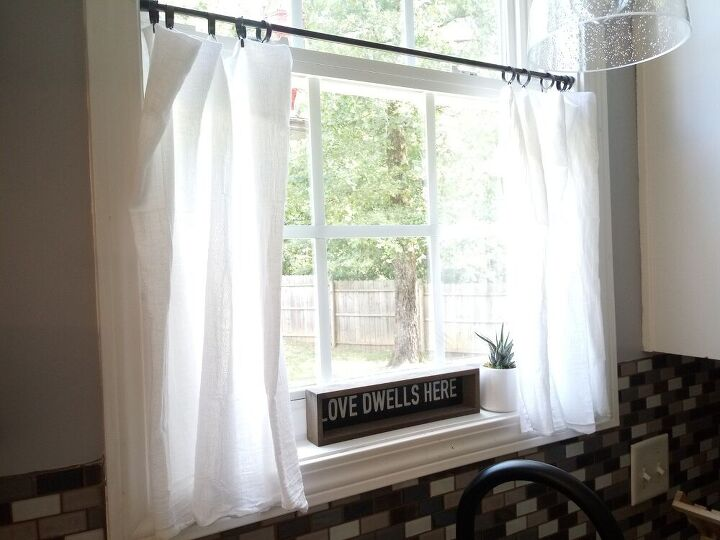 inexpensive curtain hack