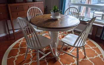 90s Oak Dining Set Gets a Make-over