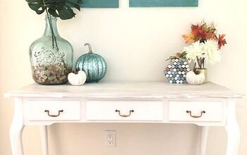 Trash to Treasure Console Table