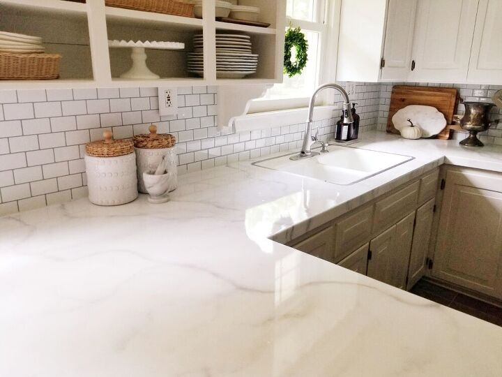 i gave my dingy backsplash an update in one afternoon