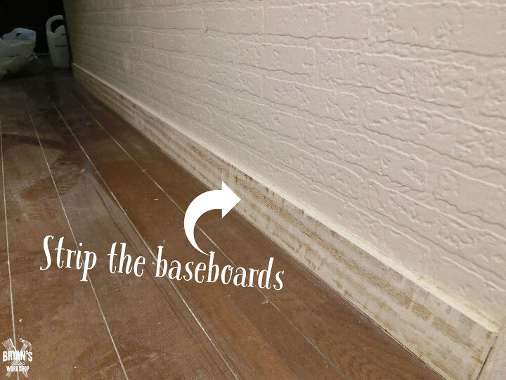 flip your old baseboards
