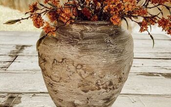Easy DIY Faux Earthenware Vessel