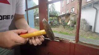 q replace glass in old door