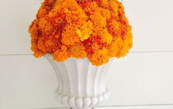 Easy Marigold Pumpkin Tutorial