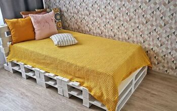 Very Simple Bed Frame From Pallets